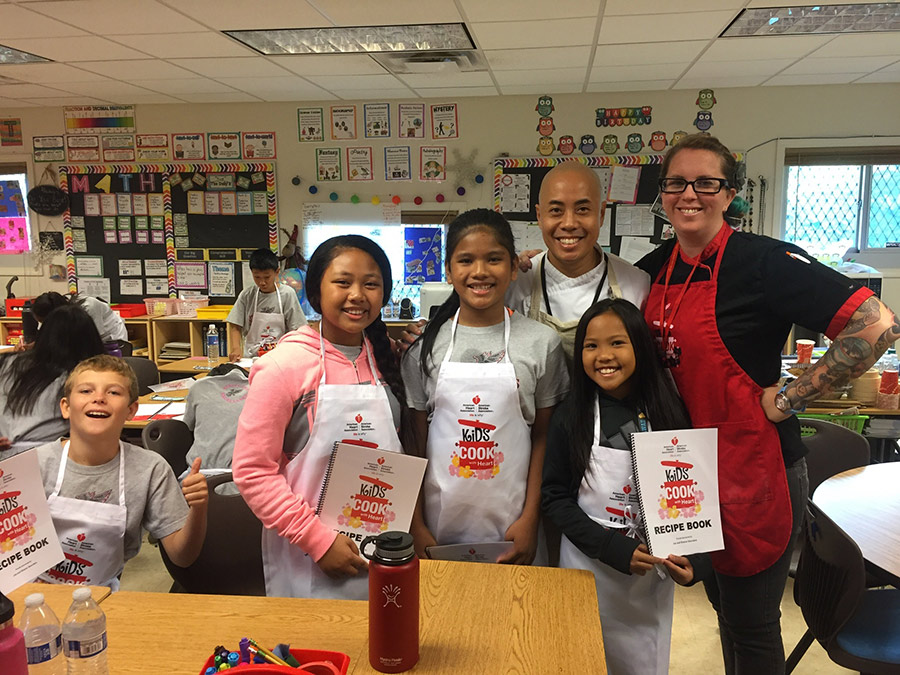 Kids Cook With Heart