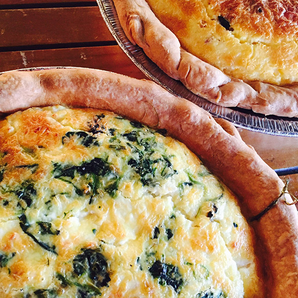 Breakfast Pastries - Quiche