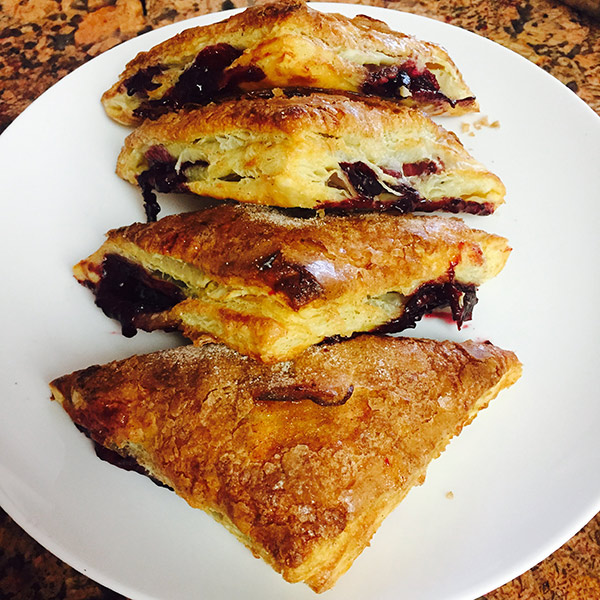 Breakfast Pastries - Turnovers