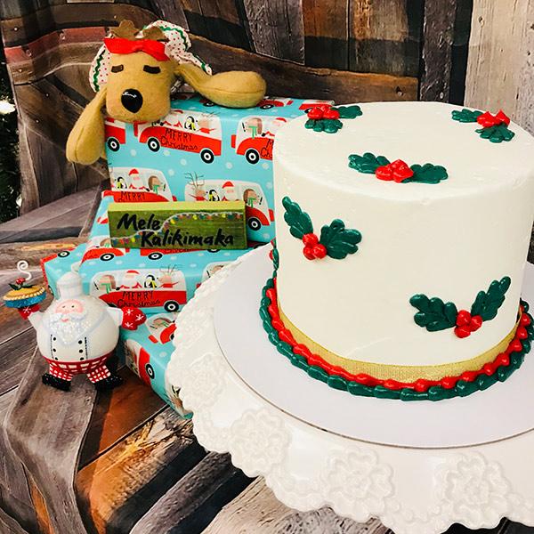 Holly Cake