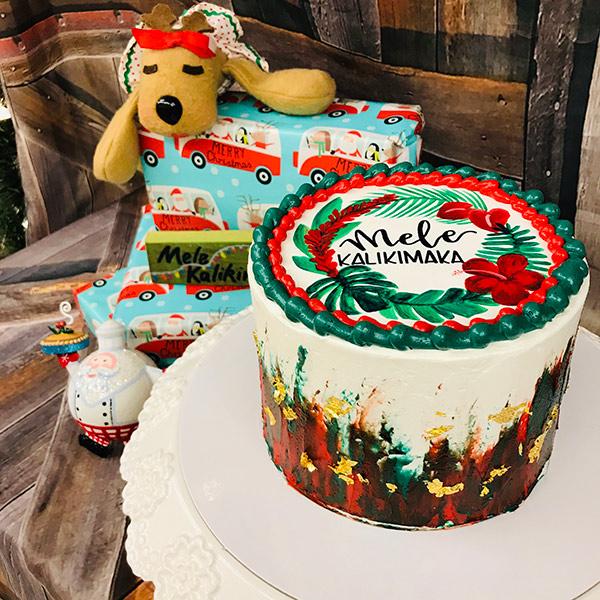 Mele Kalikimaka Cake