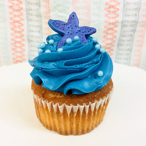 Cakes Cupcakes - Blue Star Cupcake