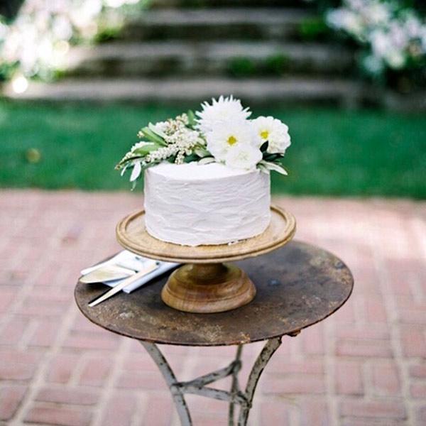 Gluten Free Vegan Wedding Cake