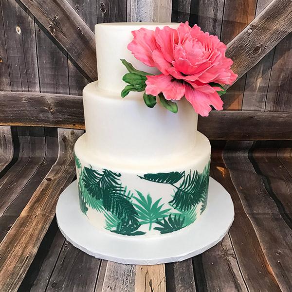 Vegan Cake with Renshaw Fondant